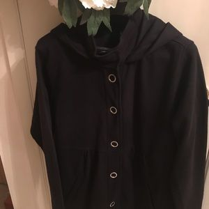 Style and company sports jacket with hood